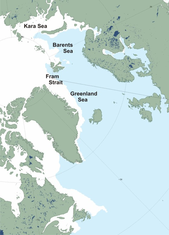 Barents Sea MASIE 2014 March 8 labeled_Sm